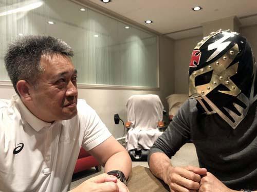 ホンダの山本さんとたっぷり語り合いました。