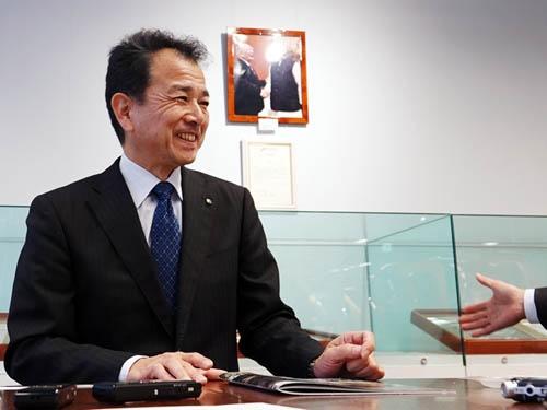 四輪商品第二部チーフエンジニア、米澤宏之課長