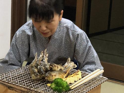 川魚もおいしかったな。来月も来ますのでよろしくお願いします。