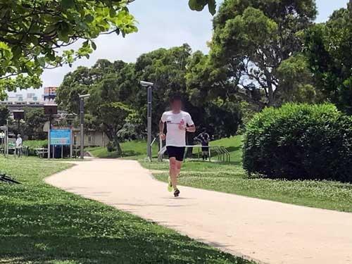 それでも飲んでばかりじゃイカン、と少しは走ったりもしてみました。東京マラソン以降ロクに練習をしていなかったので、身体が重い重い。