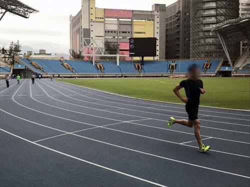 2017年のユニバーシアードのために造られたアリーナが無料開放されています。東京オリンピックも、設備が負の遺産にならないように有効活用していただきたいですね。