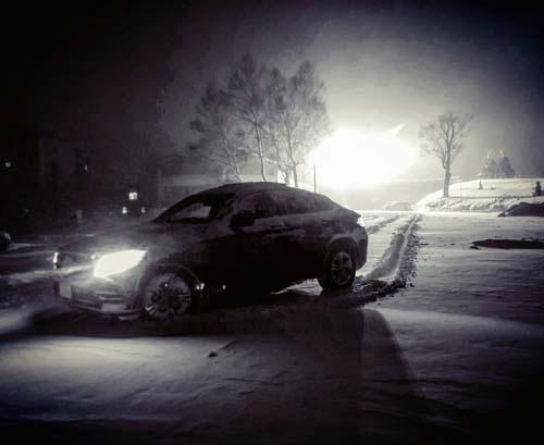雪が深くても何の心配もない。