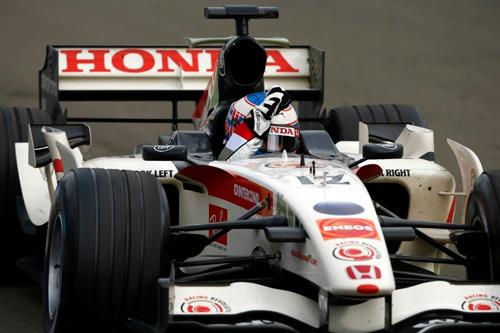 これまではホンダの「最後の優勝」だった2006年ハンガリーGP。ドライバーはジェンソン・バトン。(写真:ホンダ)