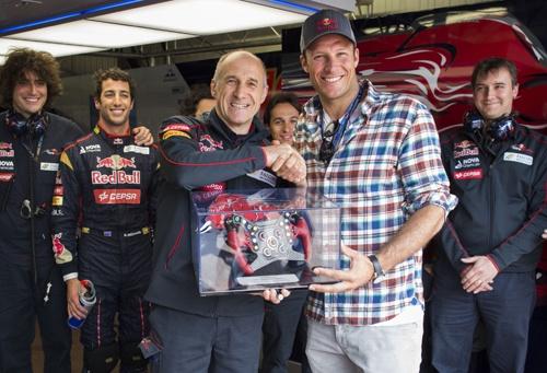 2014年のトスト氏(写真:Getty Images / Red Bull Content Pool)