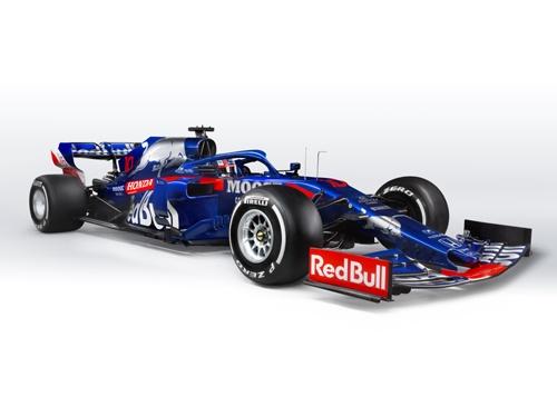 2019年のマシン、STR14(写真:Guido De Bortoli / Red Bull Content Pool)