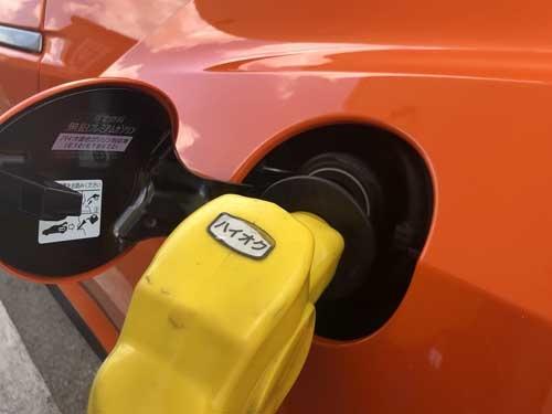 NSXの燃費は意外といいのだ。