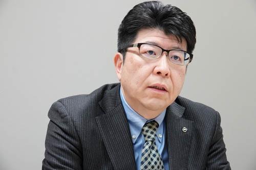 日産自動車チーフビークルエンジニア、徳岡茂利さん。