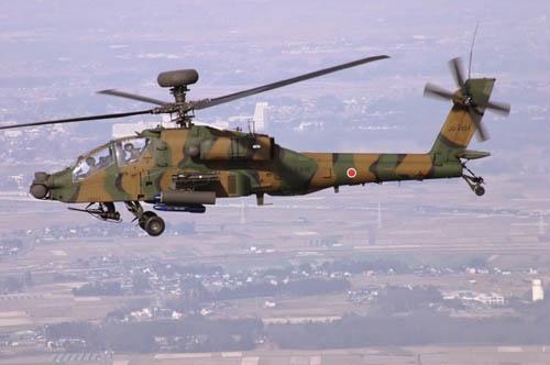 アパッチことAH-64D(陸上自衛隊HPより引用)
