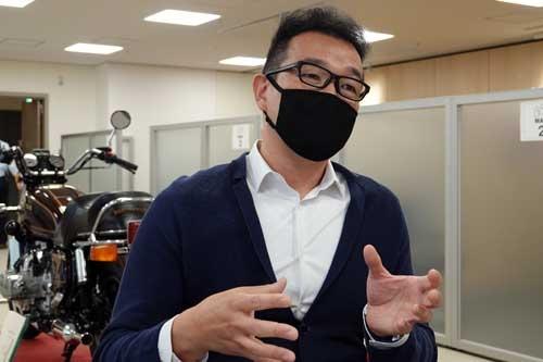 本田技研工業 四輪事業本部 ものづくりセンター 完成車開発統括部 車両企画管理部 LPLの田中健樹さん。