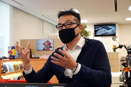 本田技研工業 四輪事業本部 ものづくりセンター 完成車開発統括部 車両企画管理部 LPLの田中健樹さん