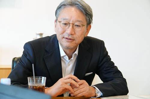 本田技術研究所社長、ホンダ専務の三部敏宏さん