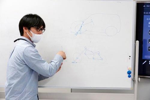 車両開発本部 操安性能開発部 上席エンジニア 梅津大輔さん