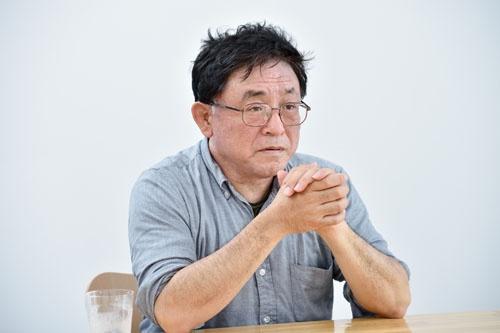 科学ジャーナリストの松浦晋也氏。実母の介護体験を本連載と『母さん、ごめん。』にまとめた。