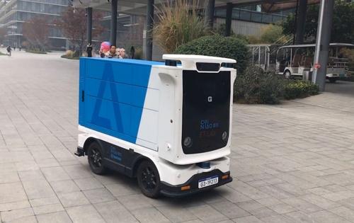 アリババの無人配送ロボット