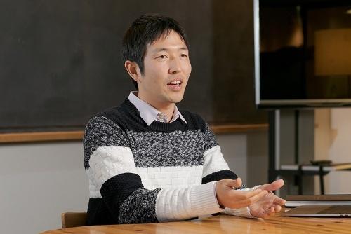 東京工業大学地球生命研究所で宇宙生物学を研究している藤島皓介さん。