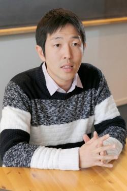 宇宙生物学者の藤島皓介さん。