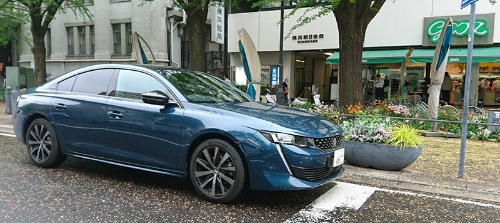 プジョー・シトロエン・ジャポンが3月に国内で発売した新型「プジョー508」