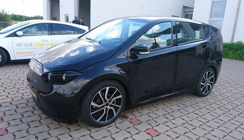 ドイツSono MotorsのEV「Sion」