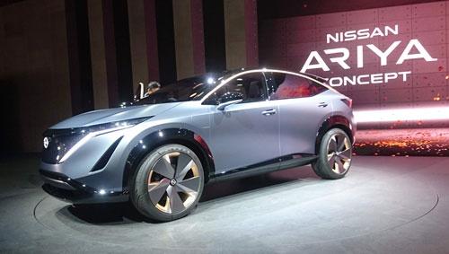 日産自動車は東京モーターショー2019に出展したEVのコンセプト車「アリア コンセプト」に近いSUV(多目的スポーツ車)のEVを発売すると予想されている