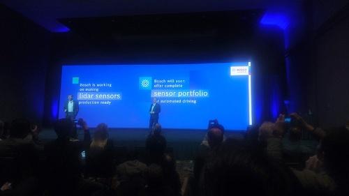 ボッシュはCES 2020のプレスカンファレンスの中で、LiDARの開発に取り組んでいることを正式に認めた。