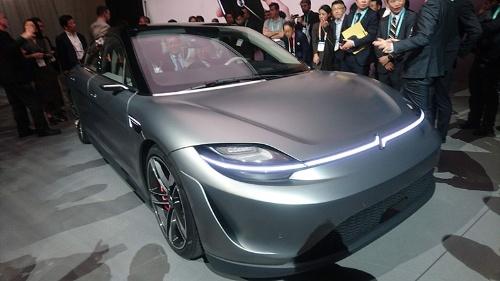 今回のCES 2020でソニーはEVのコンセプトカーを発表した。自社開発のLiDARも組み込んでいる。