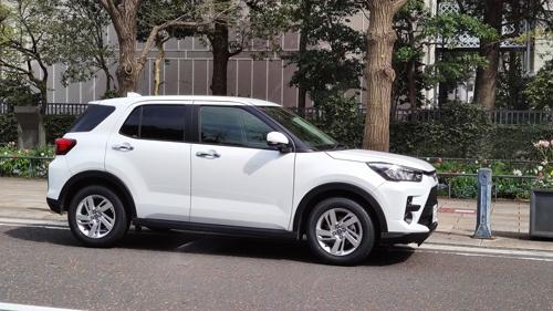 トヨタ自動車の新型SUV「ライズ」。ダイハツ工業がOEM供給する。