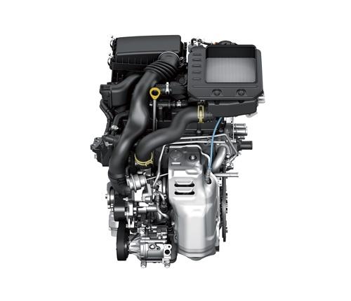 ライズ(ロッキー)に搭載された排気量1.0L・直列3気筒ガソリンターボエンジン(写真:ダイハツ工業)