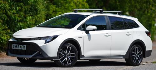 トヨタ自動車が欧州で販売する「カローラ トレック」