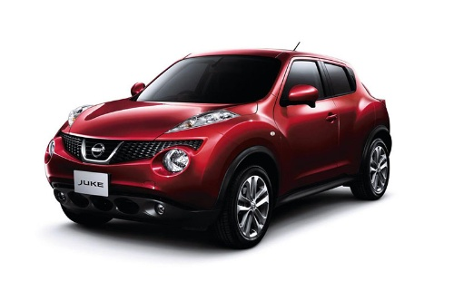 日産自動車の新型SUV「キックス」(上)と初代「ジューク」(下)〔写真:筆者撮影(上)、日産自動車(下)〕