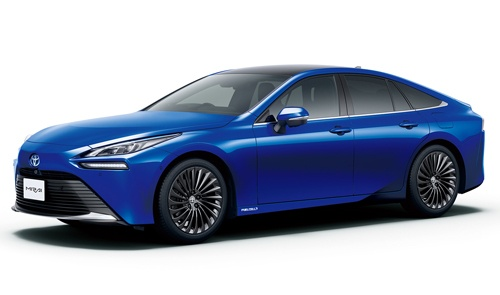 トヨタ自動車が2020年12月に発売した燃料電池車(FCV)の新型「MIRAI」(写真:トヨタ自動車)