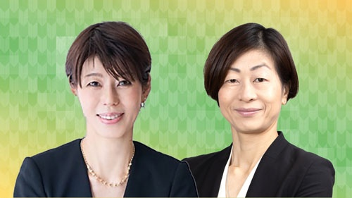 健康社会学者の河合薫氏(左)と日本オリンピック委員会(JOC)理事でもある山口香筑波大学教授(写真:Shutterstock)