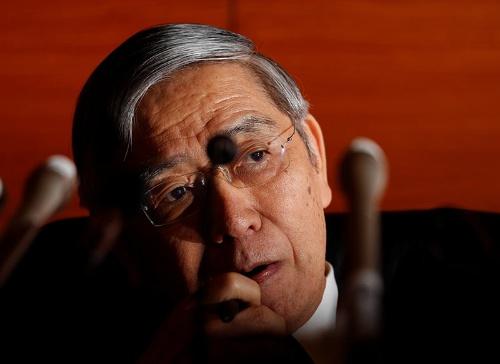 日本銀行の黒田東彦総裁(写真:ロイター/アフロ)