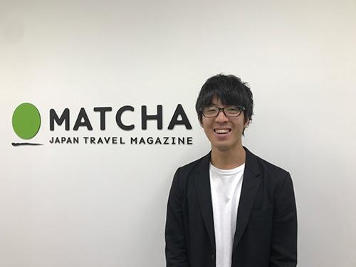 青木優社長は1989年生まれ。明治大学国際日本学部卒後、映像制作会社を経て13年にMATCHAを設立した