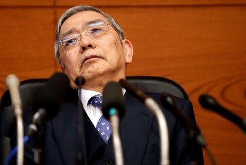 日銀の黒田東彦総裁(写真:ロイター/アフロ)