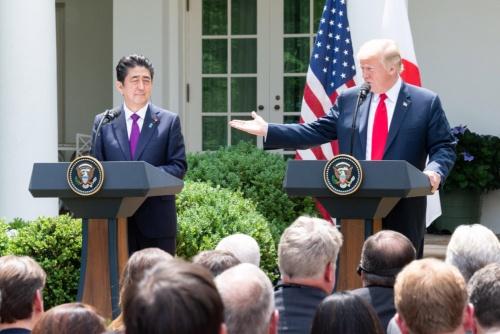 日米通商交渉で米国の出方には要注意だ(写真:ユニフォトプレス)