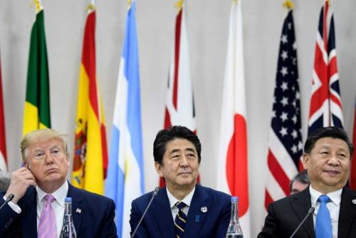 G20大阪サミットで、米国のトランプ大統領と中国の習近平国家主席は、交渉でどのような攻防を繰り広げたのか(写真:AFP/アフロ)