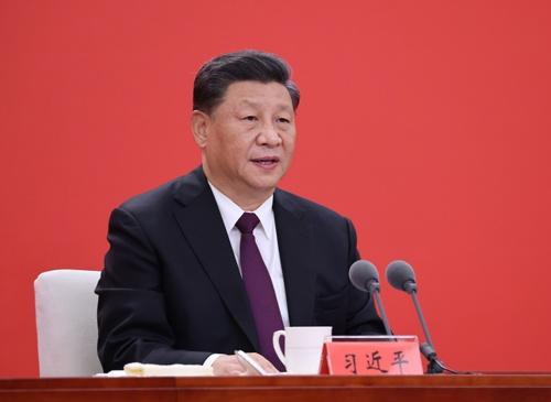 輸出管理を武器に米国への対抗姿勢を強める中国の習近平(シー・ジンピン)国家主席(写真:新華社/アフロ)