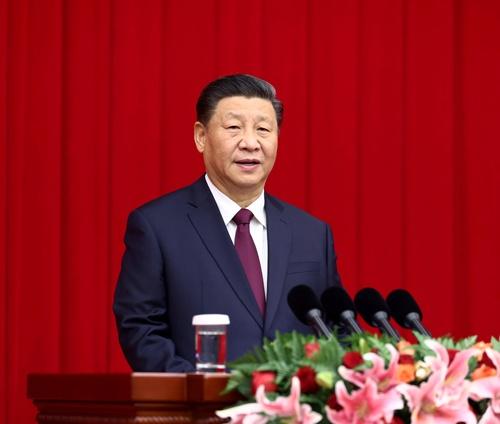 中国の習近平(シー・ジンピン)国家主席(写真:新華社/アフロ)