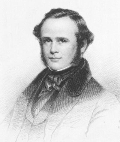 ホレス・ウェルズ(1815-1848)。研究熱心で善良な歯科医だったが、弟子の策略から、富も名誉も失い、非業の死を遂げる(出典:U.S. National Library of Medicine)