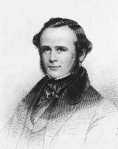 ホレス・ウェルズ(1815-1848)。研究熱心で善良な歯科医だったが、麻酔という「世紀の大発見」をしたことから、運命が暗転する(出典:U.S. National Library of Medicine)