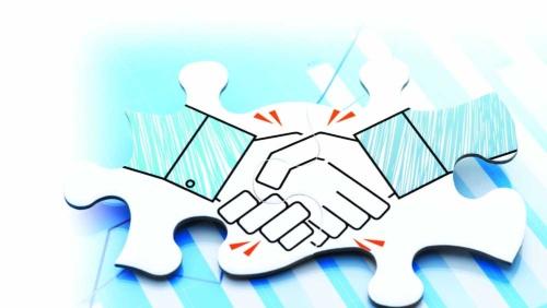 中小企業同士のM&Aが増えている。売り手が増えている最大の理由は後継者難。買い手の側には事業拡大の時間を短縮できるメリットがある(写真:PIXTA)