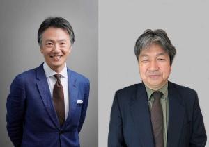 IMD北東アジア代表の高津尚志氏(左)、ファミリー・ビジネス・ネットワーク・ジャパン参事の河田淳氏(右)。