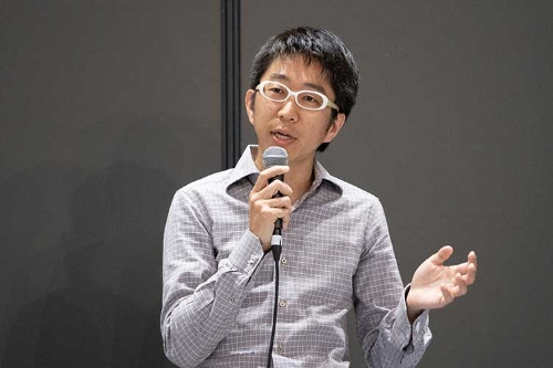 アソブロック代表取締役の団遊氏(写真:稲垣純也)