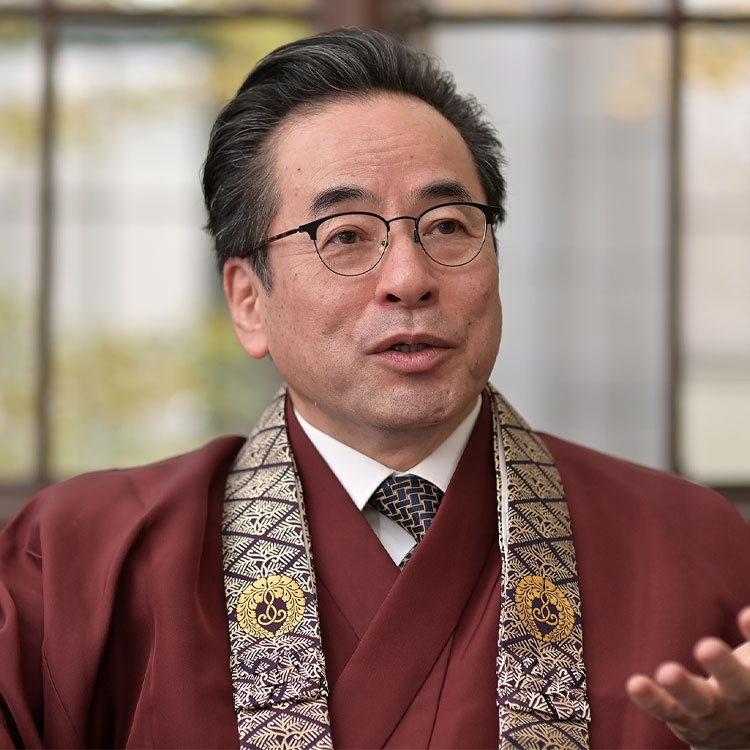 築地本願寺の改革を先導した、安永宗務長の経営者観