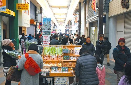 和歌山市の商店街はイベントを催すと多くの人が訪れるようになった