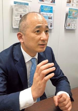古田土経営の飯島社長。「先代からの企業理念や経営の考え方を尊重しなければ、先代は安心して継がせることができない」と言う