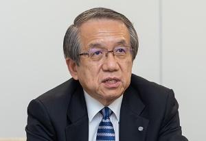 独自経営でサノヤスを再生している上田社長(写真/大下美紀)