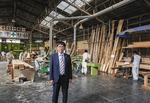 秋元社長。独特の経営眼で会社を引っ張り続ける(写真:廣瀬貴礼)
