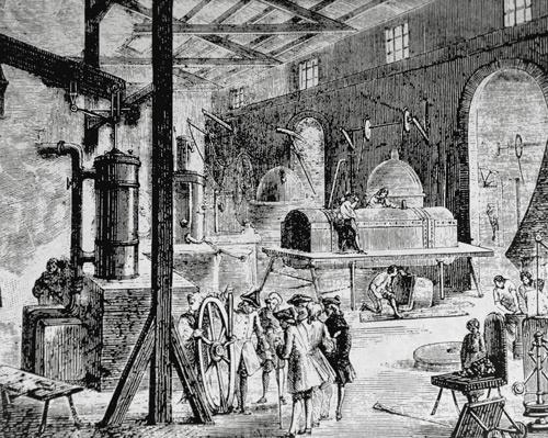 18世紀の英国の産業革命(写真:ユニフォトプレス)
