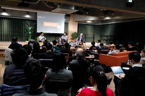 2020年2月のRaise LIVEは東急が運営する「Shibuya Open Innovation Lab(SOIL)」で実施した(写真:竹井俊晴)